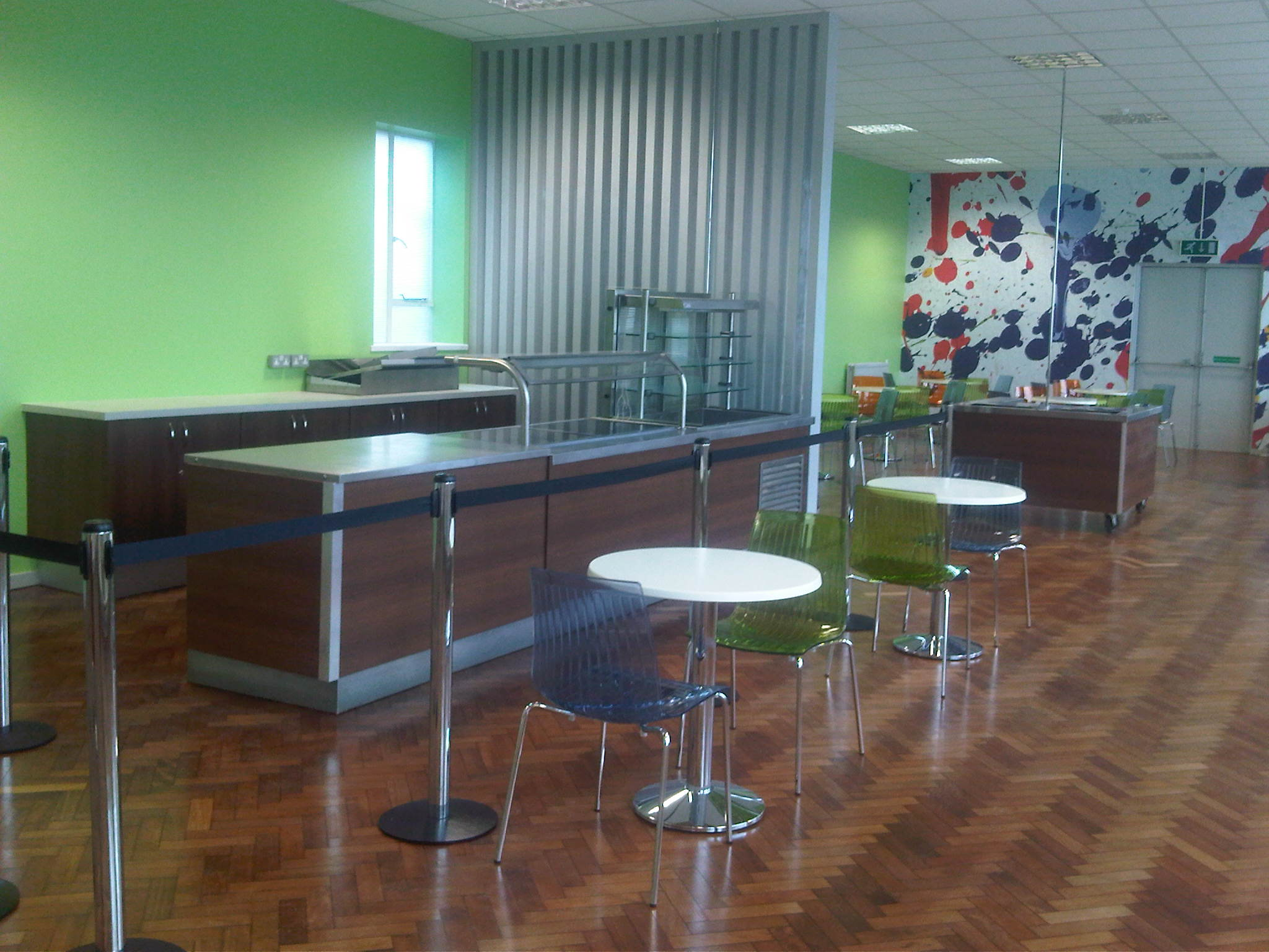 We Were Appointed To Carry Out The Interior Design And Build Of A New Exciting Caf Bar Refurbishment Existing Restaurant