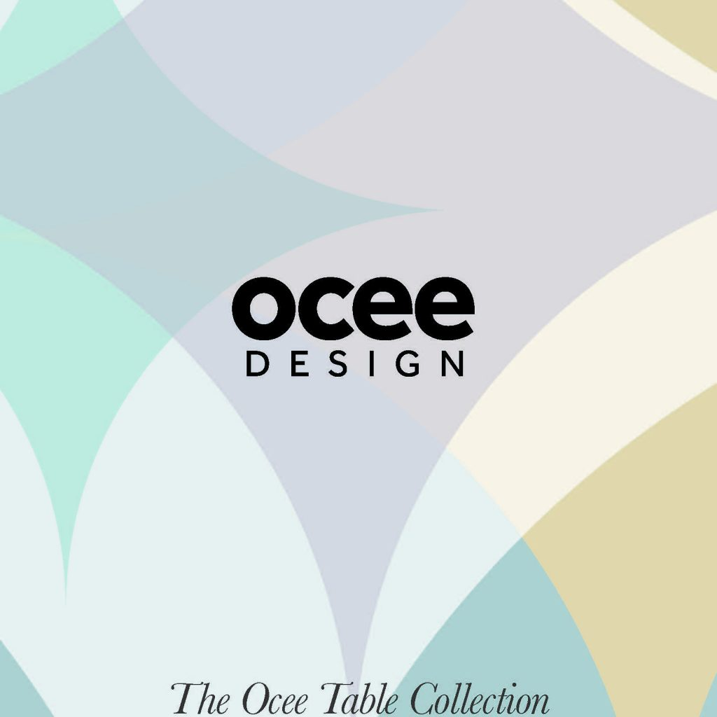 Ocee Table Brochure Cover Contract Services