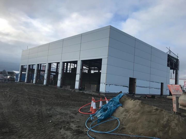 Another of our new car showrooms currently on site. Con...