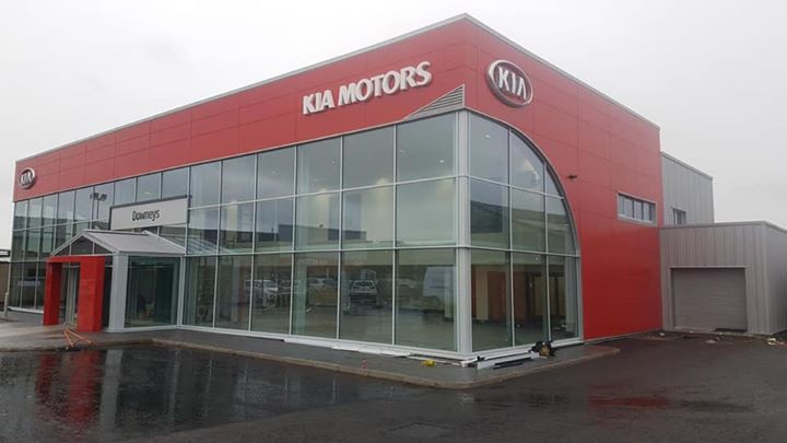 Kia Newtownards nearing completion, another quality job...